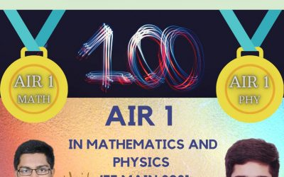 AIR 1 in Mathematics and Physics – JEE Main 2021