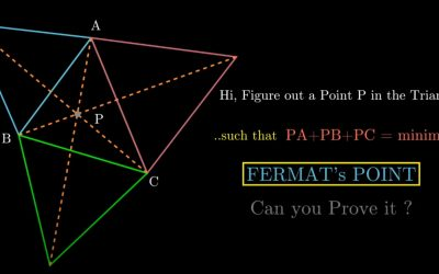 Writing JEE/ KVPY/Olympiads? Know what is Fermat's point?